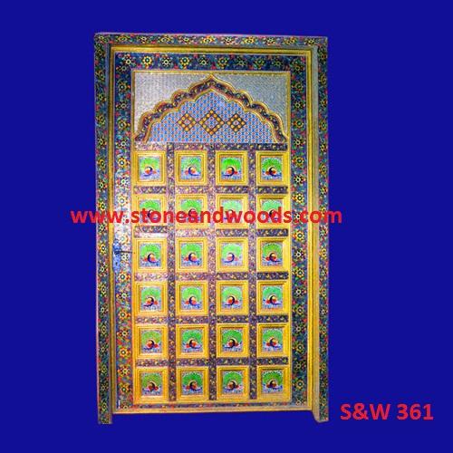 Traditional Design Wooden Door S&W 361
