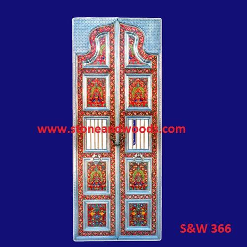 Traditional Design Wooden Door S&W 366