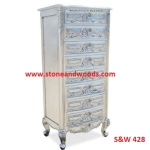 White Chest of Drawers S&W 428