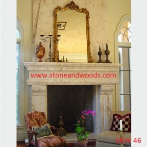 Modern Stone Fire Place S&W 46
