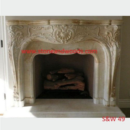 Marble Fire Place S&W 49
