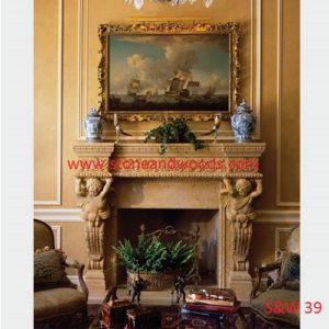 Designer Fire Place S&W 39