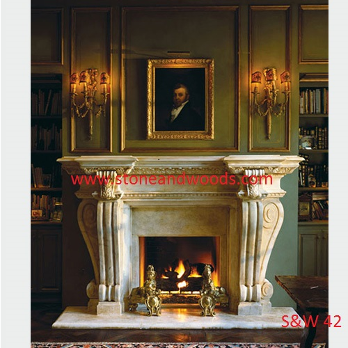 Stone Fire Place S&W 42