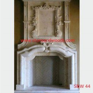 Designer Stone Fire Place S&W 44