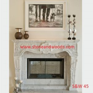 Natural Stone Fire Place S&W 45