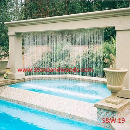 Garden Fountain S&W 19
