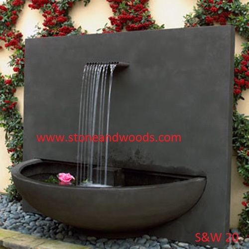 Modern Garden Fountain S&W 20
