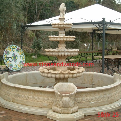 Outdoors Water Fountain S&W 25