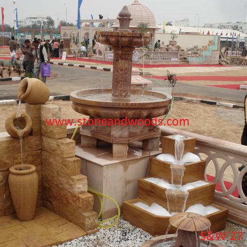 Designer Outdoor Fountain S&W 27