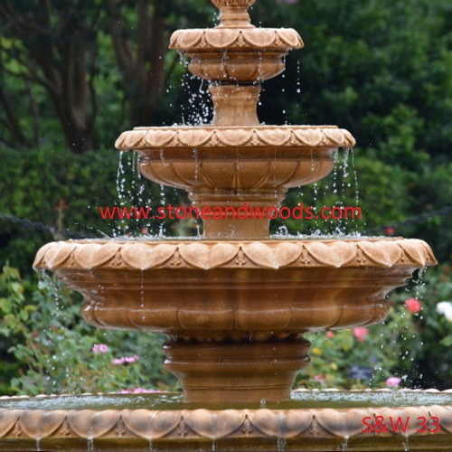 Designer Garden Water Fountain S&W 33