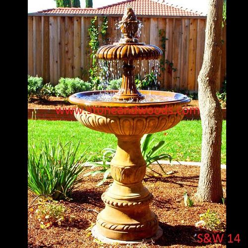 Decorative Garden Fountain S&W 14