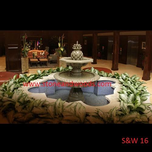 Designer Garden Fountain S&W 16