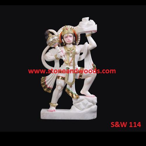 Marble Hanuman Statue 114