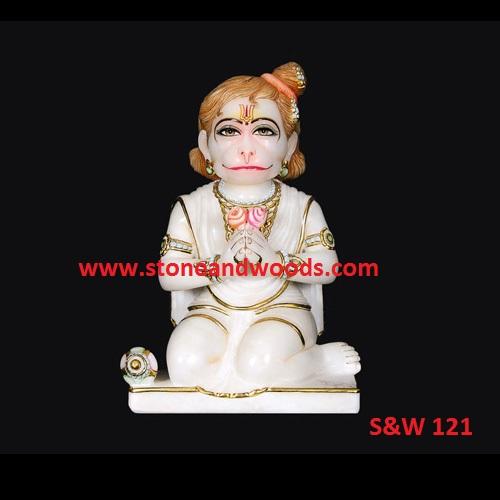 Sitting Hanuman Statue S&W 121