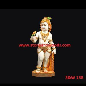 Krishna Bal Gopal Idols S&W 138