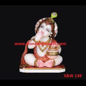 Krishna Bal Gopal Idols S&W 139