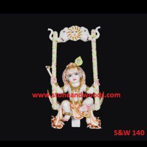 Krishna Bal Gopal Idols S&W 140