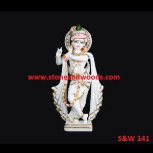 White Marble Krishna Murti S&W 141