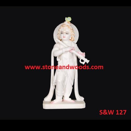 White Marble Krishna Murti S&W 127