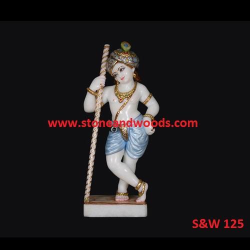 White Marble Krishna Murti S&W 125