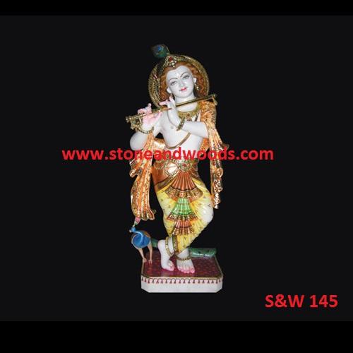 Lord Krishna Idols S&W 145