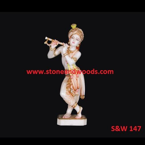 Lord Krishna Idols S&W 147