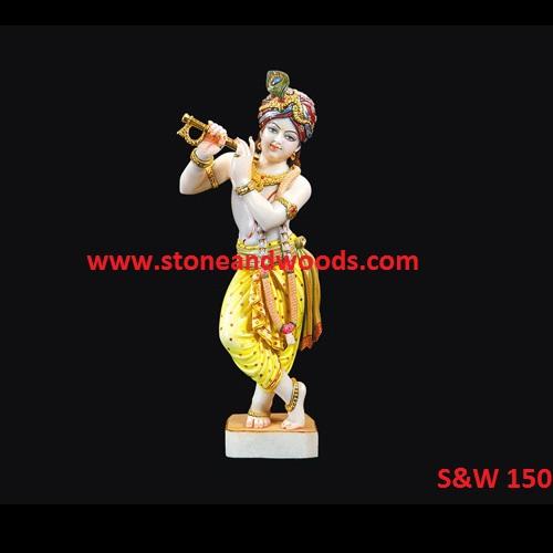 Lord Krishna Idols S&W 150