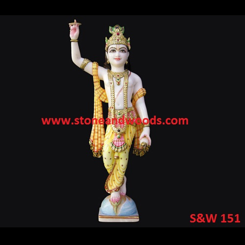Lord Krishna Idols S&W 151
