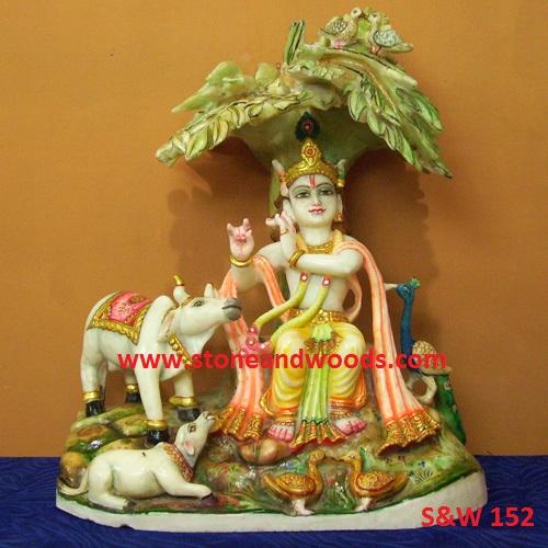 Lord Krishna Idols S&W 152