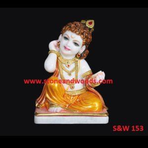 Krishna Bal Gopal Idols S&W 153
