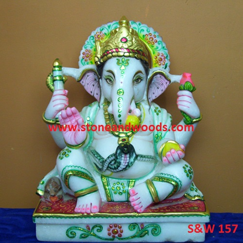Lord Ganesh Statue S&W 157