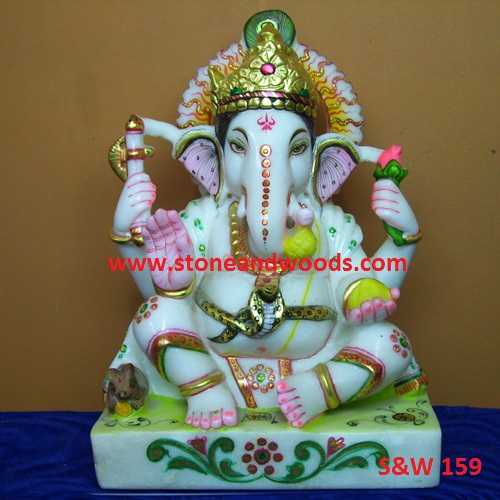 Lord Ganesh Statue S&W 159