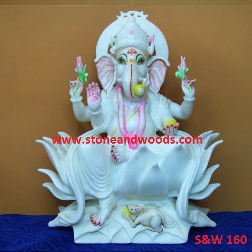 Lord Ganesh Statue S&W 160