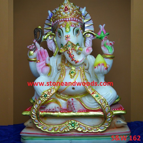 Lord Ganesh Statue S&W 162