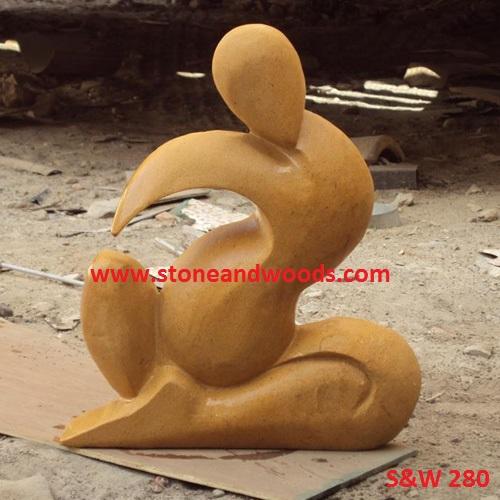 Modern Art Sculpture S&W 280