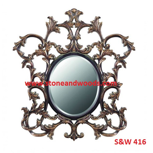 Antique Oval Picture Frames S&W 416