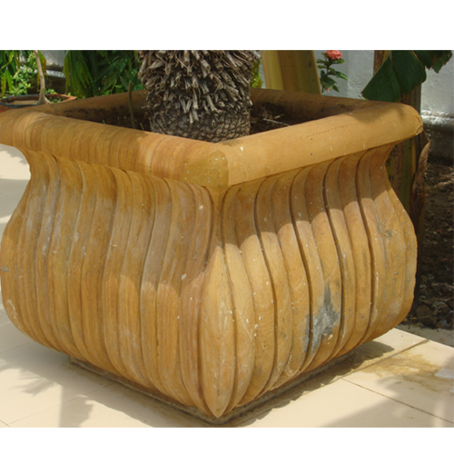 Marble Outdoor Planters S&W 222