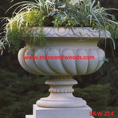 Marble Outdoor Planters S&W 224