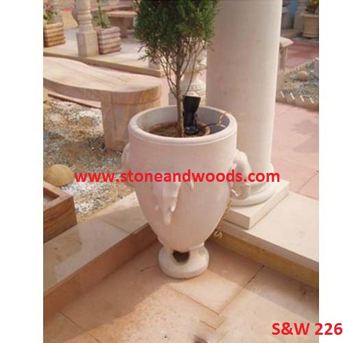 Marble Outdoor Planters S&W 226
