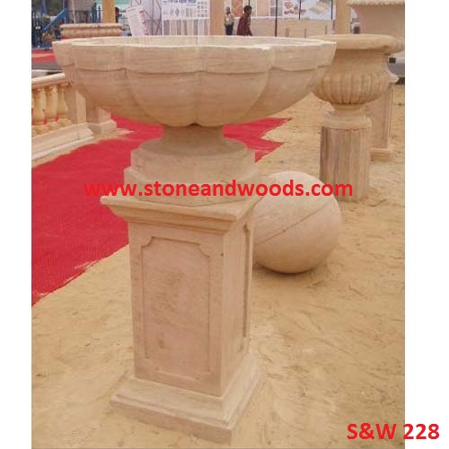 Marble Outdoor Planters S&W 228