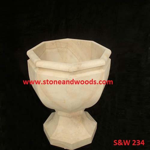 Marble Stone Garden Planters S&W 234