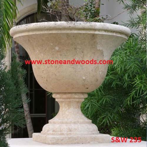 Marble Stone Garden Planters S&W 235