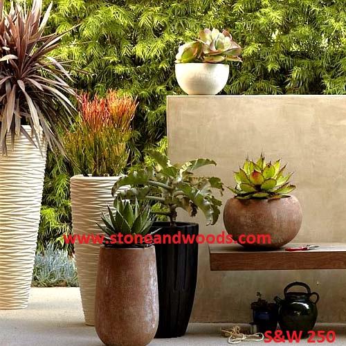 Outdoor Garden Planters S&W 250