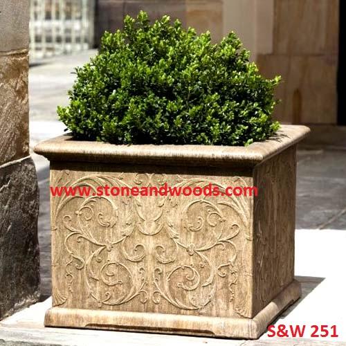 Outdoor Garden Planters S&W 251