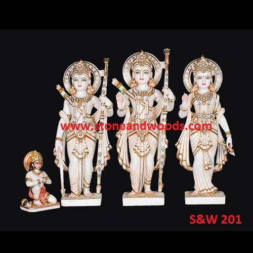Ram Darbar Marble Statue S&W 201