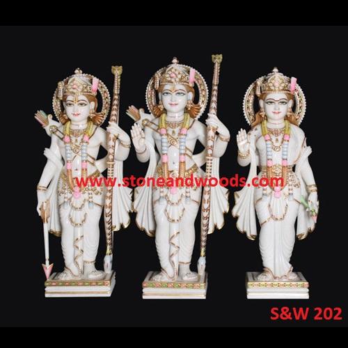 Ram Darbar Marble Statue S&W 202
