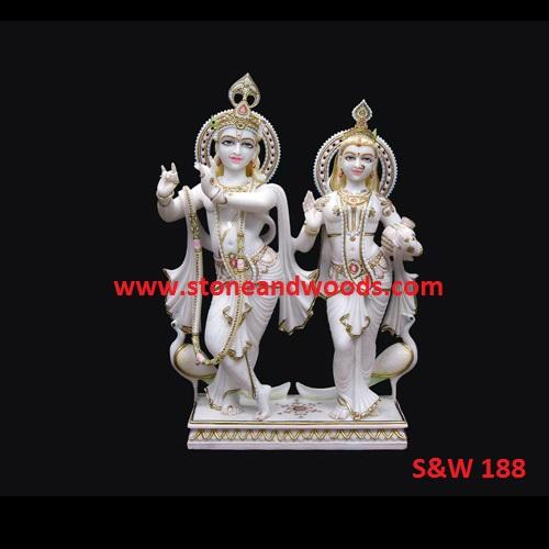 Lord Radha Krishna Statue S&W 188