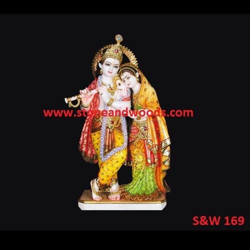 Lord Radha Krishna Statue S&W 169