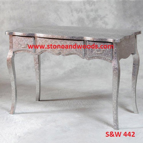 Silver Side Table S&W 442