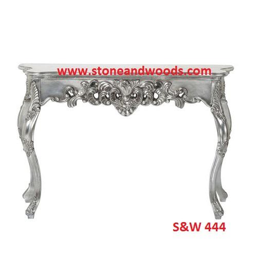 Silver Center Table S&W 444